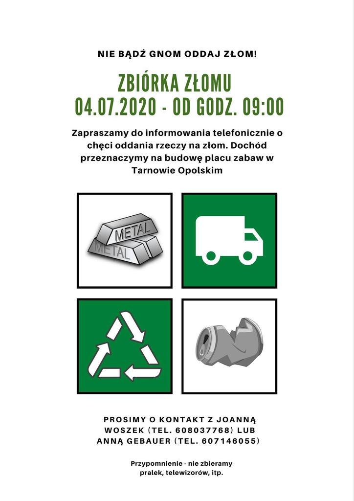 Zbiórka złom w Tarnowie Opolskim.jpeg