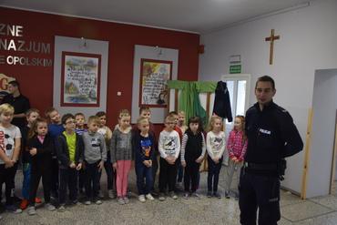 Galeria Policjanci w szkole