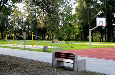 Galeria Rewitalizacja starego mostu kolejowego oraz parku miejskiego w Krapkowicach